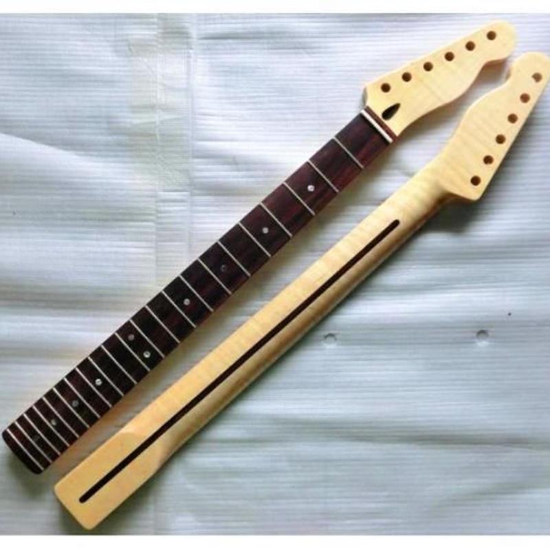 テレキャスタータイプ ネックローズ指板 交換用 エレキギター ネック