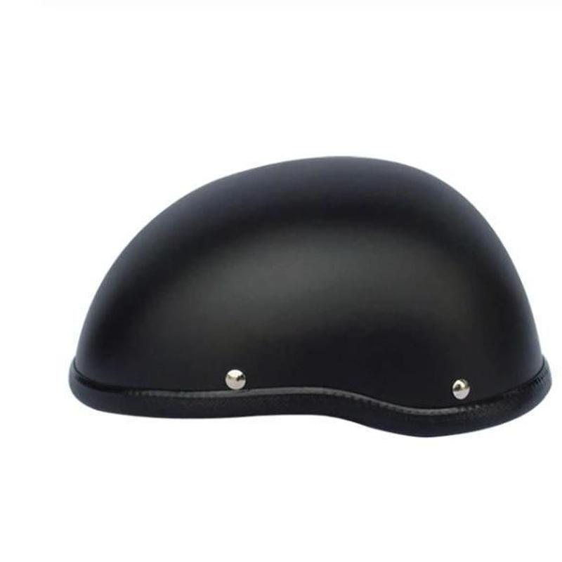 ハンヘル 半帽 ヘルメット 各色各サイズ有り ホワイト 黒、艶消し ハーレー アメリカン