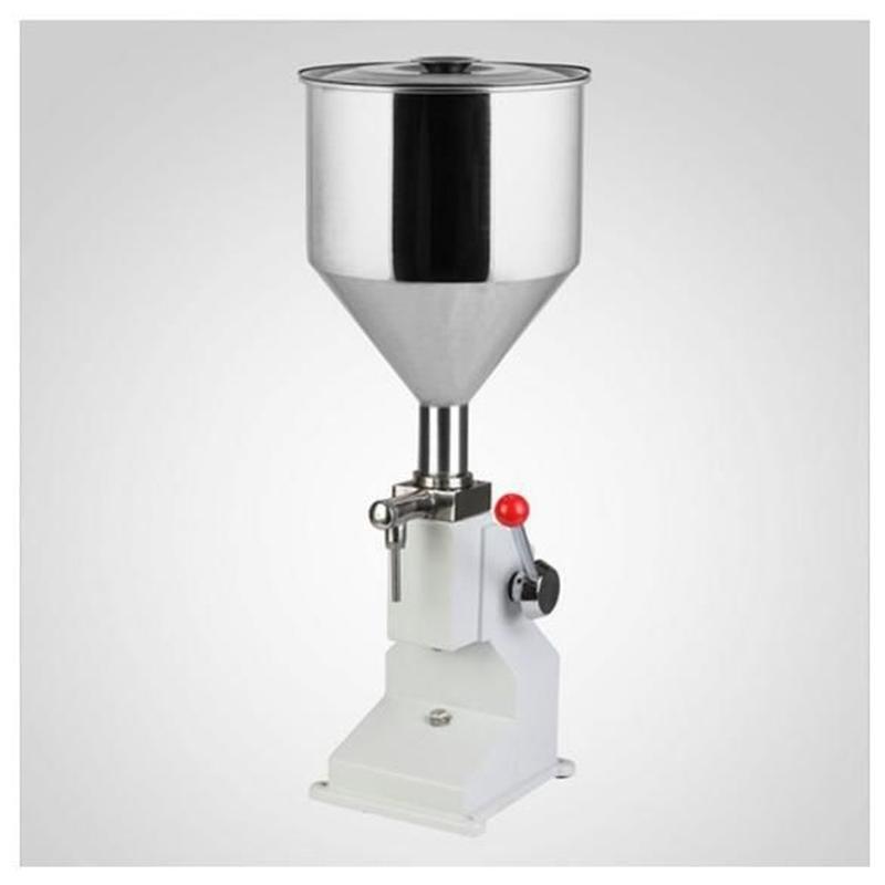 卓上型 クリーム/液体充填機 ハンドフィラー 空気圧式 プロ用 業務用 本格的 ステンレス製 小分け 化粧品 食品 ジャム オイル 瓶詰め 手動