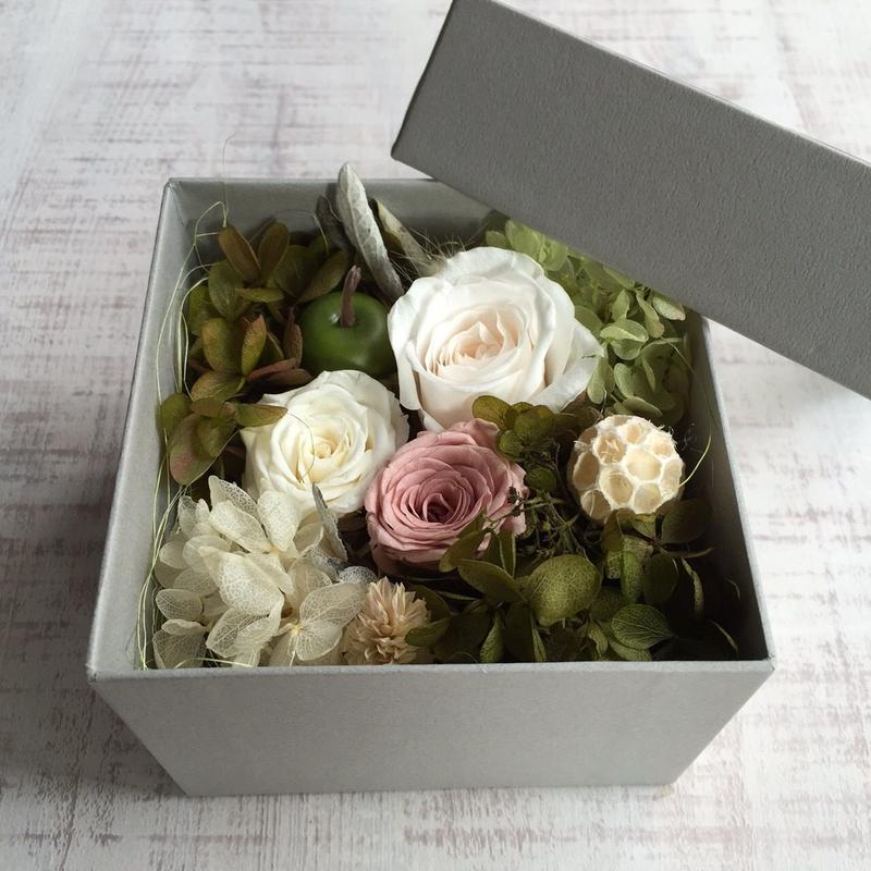 Flower box(gray)
