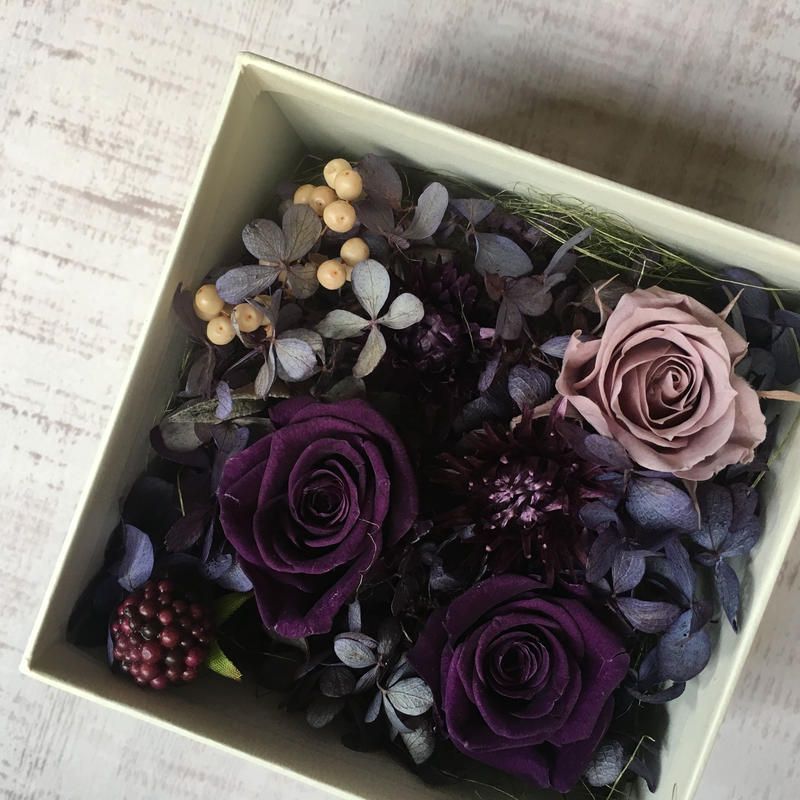 Flower box(purple)