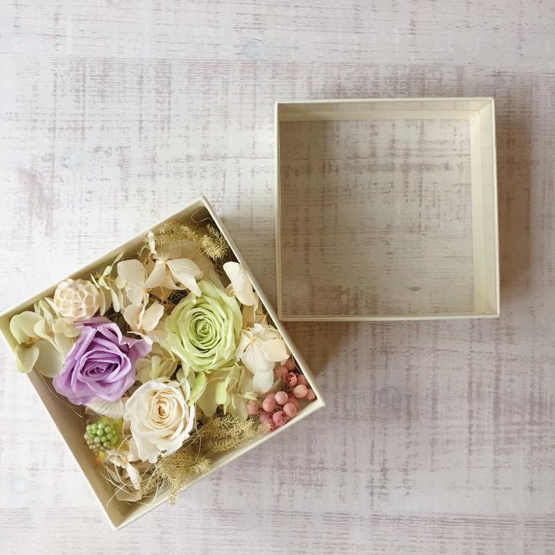 Flower box(light green)