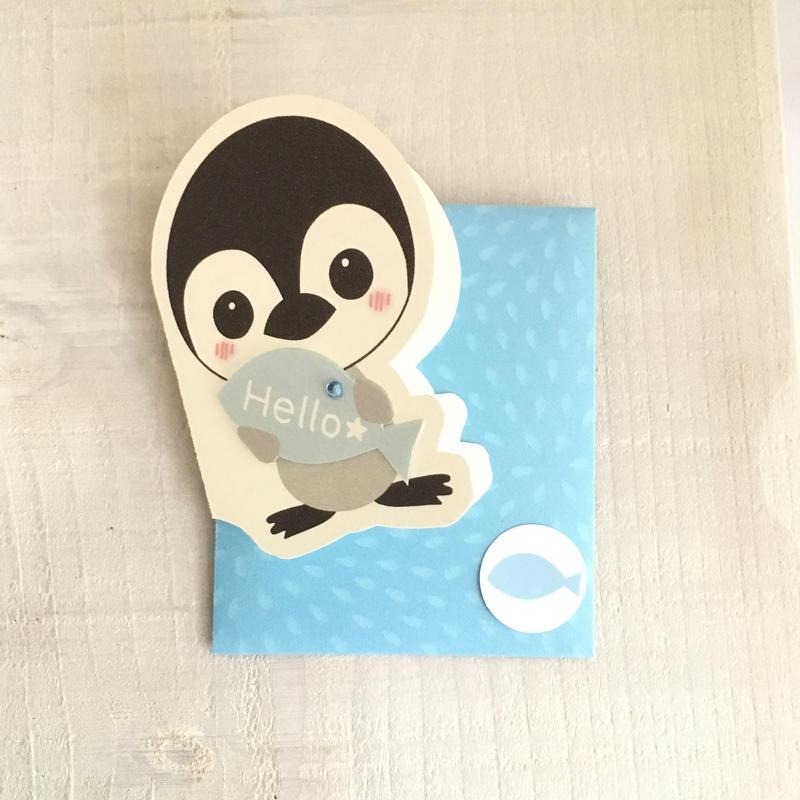 メッセージカード・ペンギン