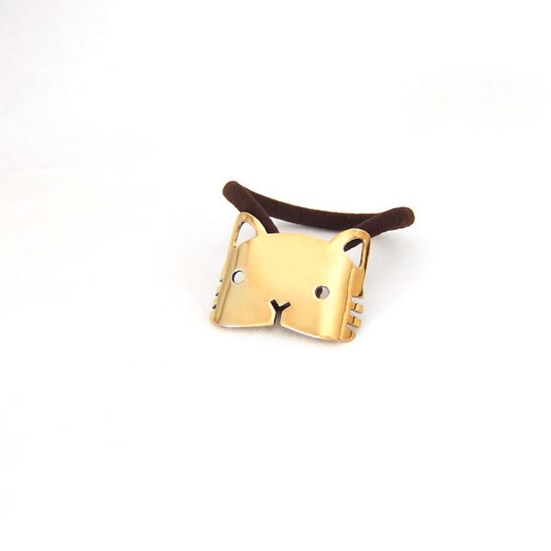もきゅ猫のヘアアクセサリー【角】