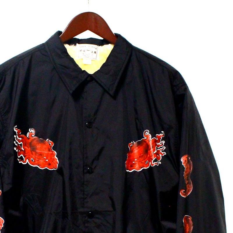 旭蛸スカコーチ Sun rise octopus Ska coach jacket