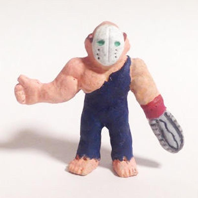 妖怪レスラー・ホラーマン(彩色)プラスチック人形