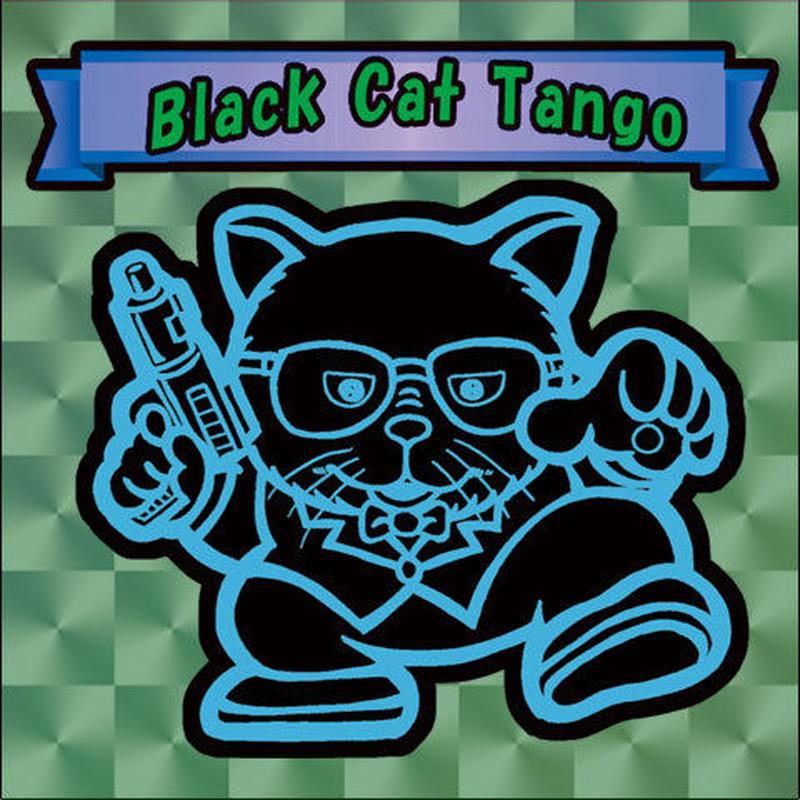 【海外版】キャッツオブサードストリート「black cat tango」(緑プリズム)