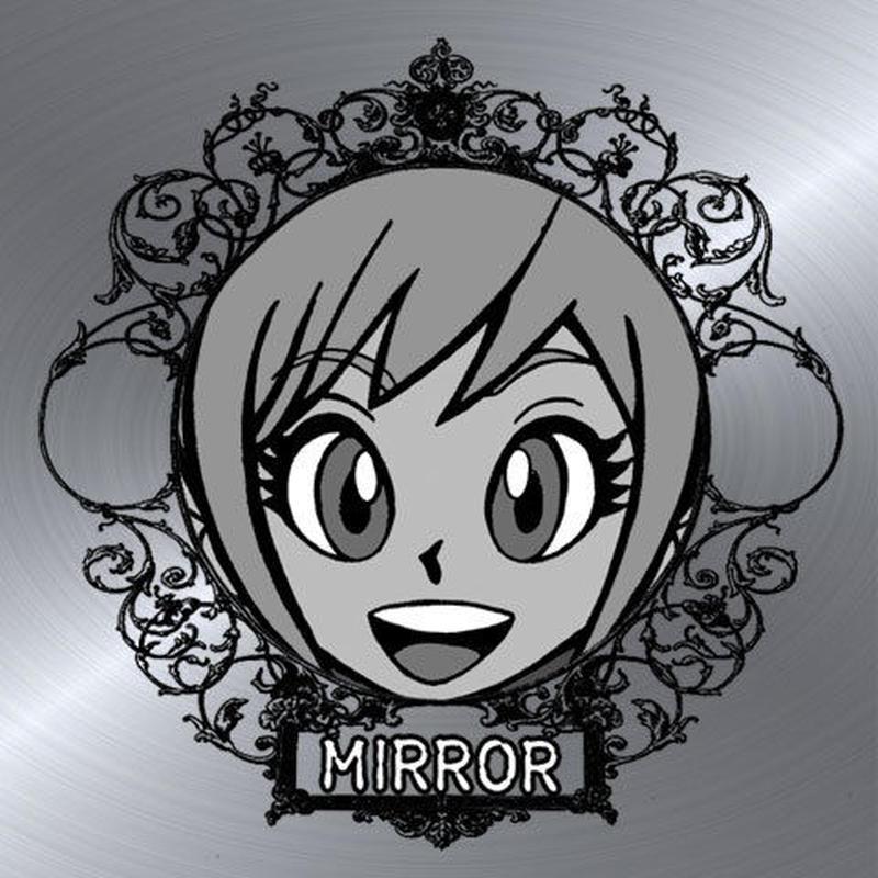 第2弾【鏡のアッコちゃん】「合わせ鏡A」亜子アッコ版(ミラーシール)
