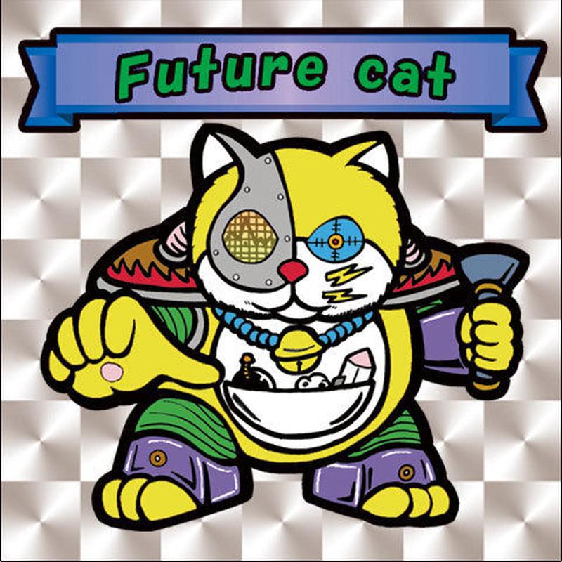 【海外版】キャッツオブサードストリート「future cat」(銀プリズム)