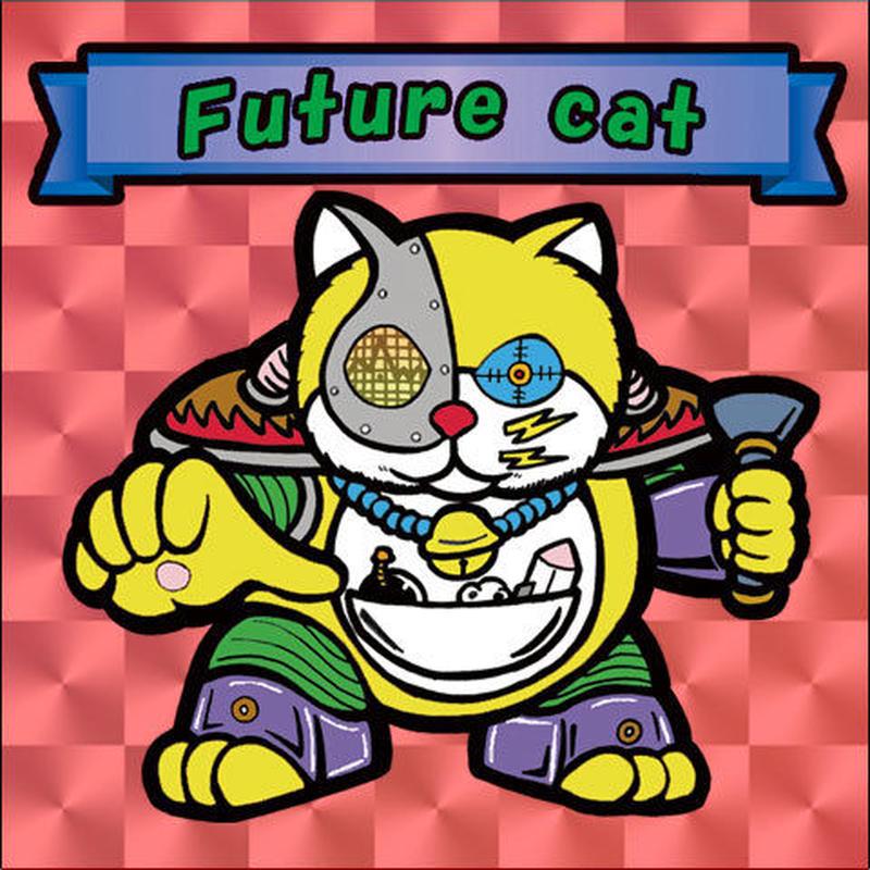 【海外版】キャッツオブサードストリート「future cat」(赤プリズム)