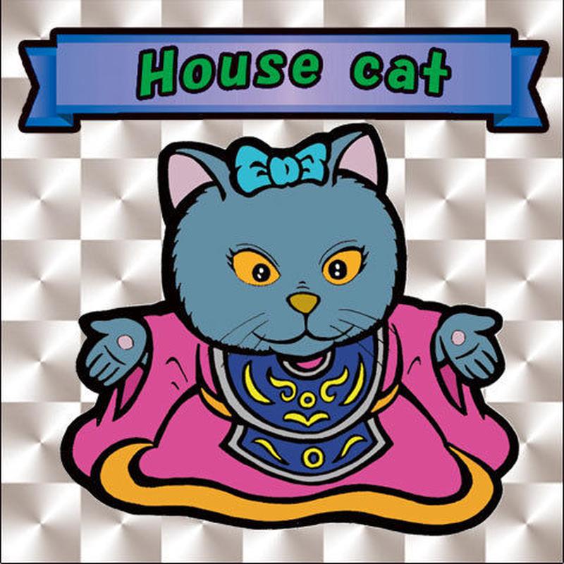 【海外版】キャッツオブサードストリート「house cat」(銀プリズム)