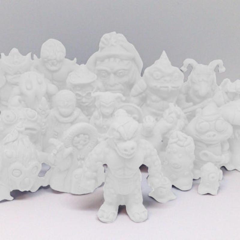 デンドロギガス・メタモスの魔城「フィギュア版セット」(無彩色レジン素材)全21種