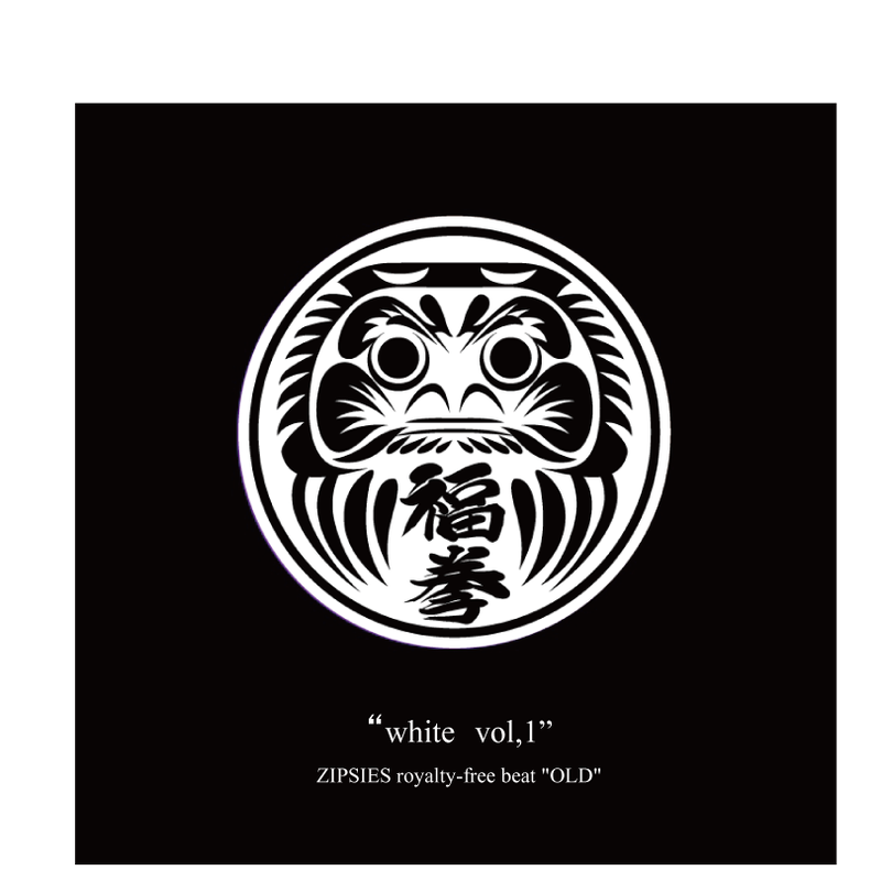 """white vol,1""(8曲)  ZIPSIES royalty-free beat ""OLD"""