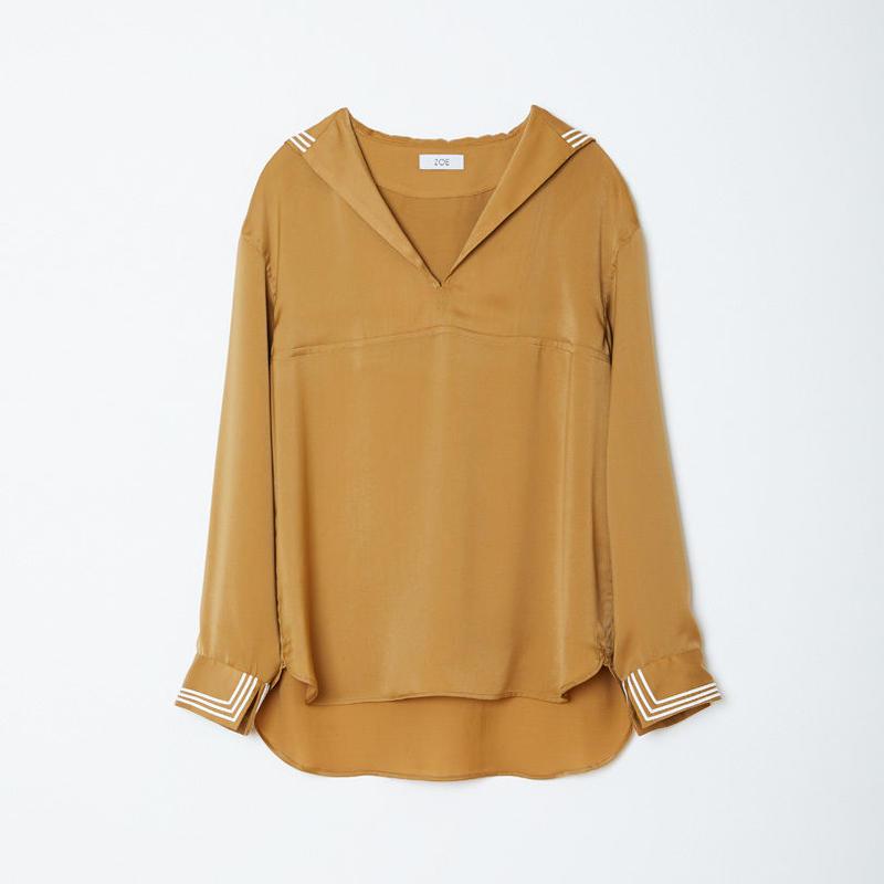 sailor shirts / gold