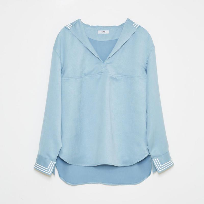 sailor shirts / blu