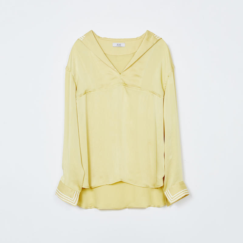 sailor shirts / lemon yellow