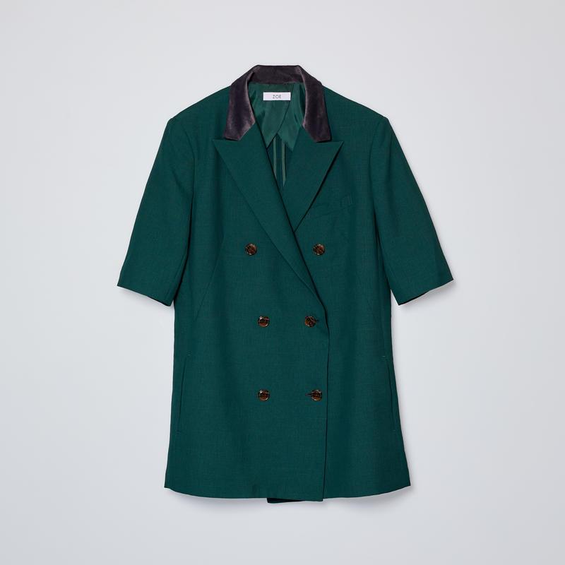 short sleeve doble jacket
