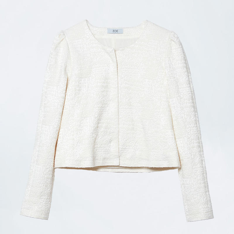 ivory short jacket