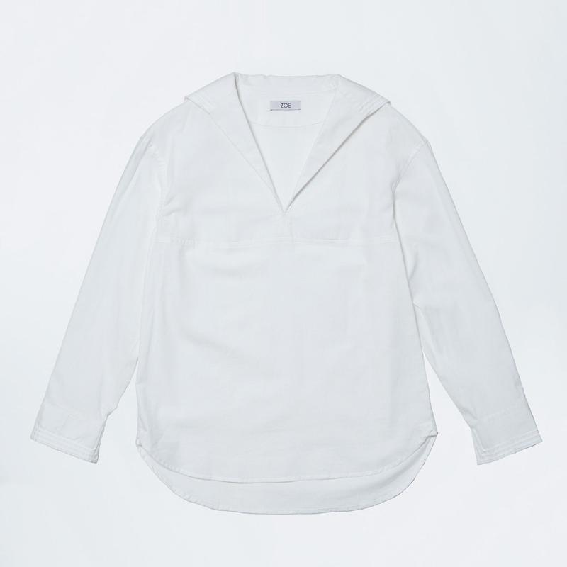 ladies sailor shirts white