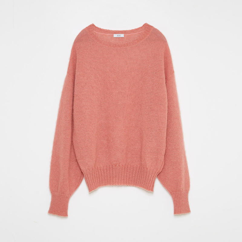 mohair sweater / pink