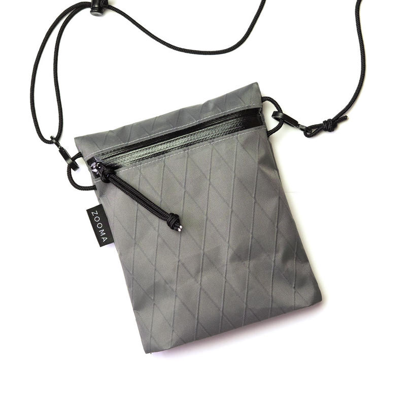 Hiking sacoche mini - X-Pac Steel Grey