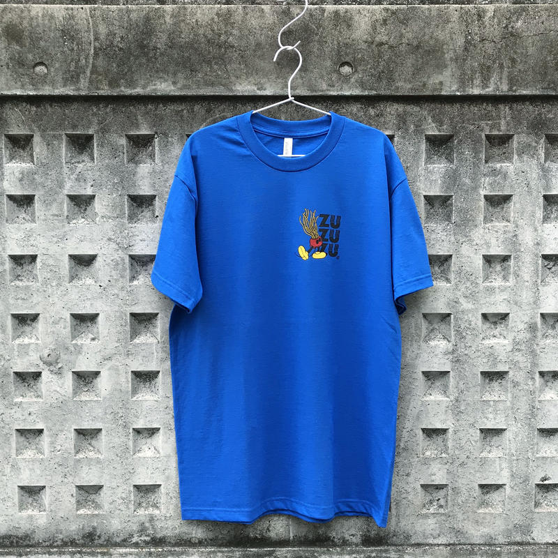 ZZZ MOUSE S/S TEE【BLUE】