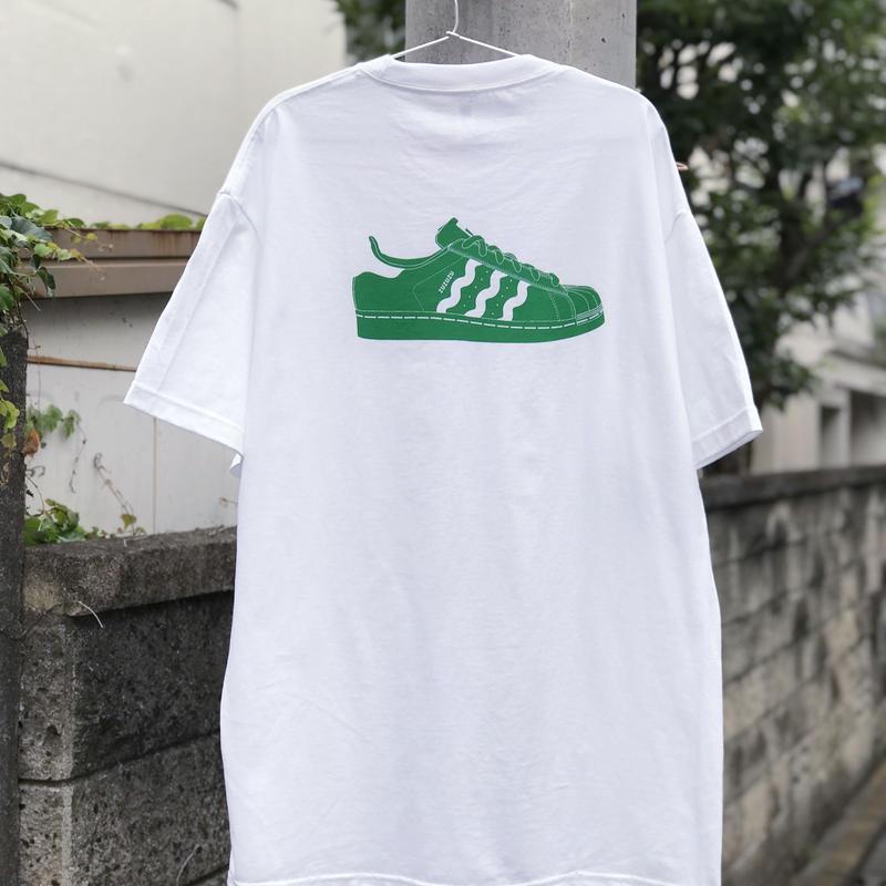 ZZZ KICKS S/S TEE【GREEN】