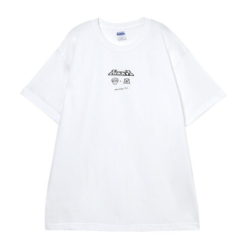 ZUKKY × MONSTER T-shirt (WHITE)