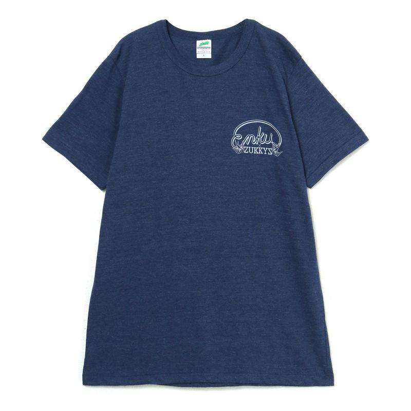 ZUKKYZ×円空 限定Tシャツ(NAVY)