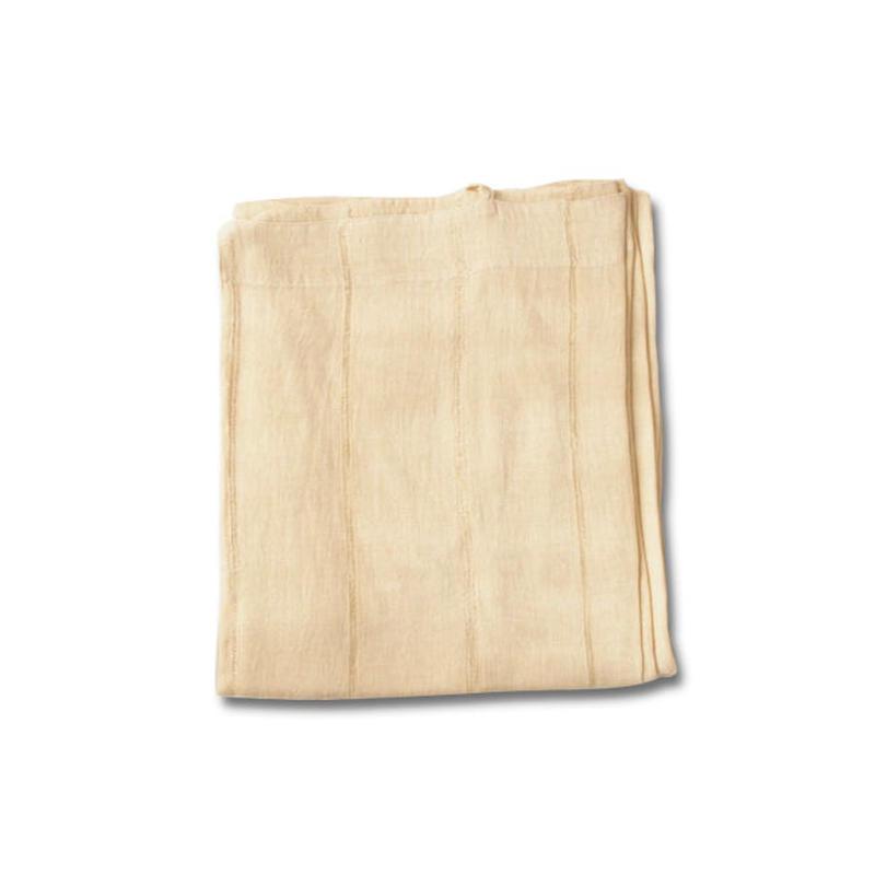 en fil d'Indienne オンフィルダンディエンヌ カーテン Lin voile natural 150x300