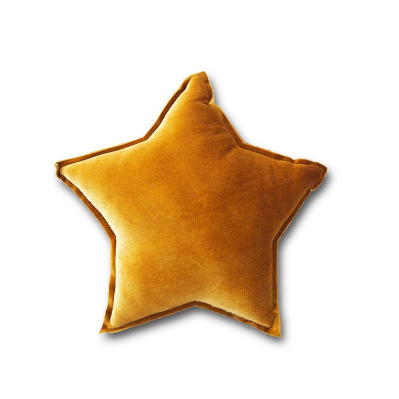 Numero74 ヌメロ74  tar cushion velour スタークッション S ベロア dusty gold