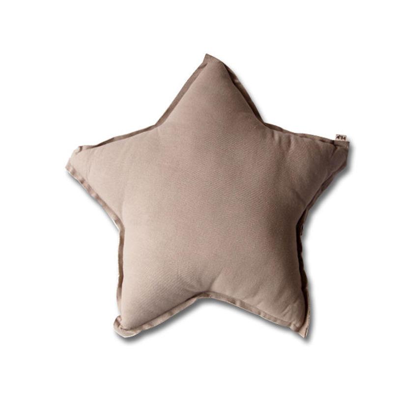 Numero74 ヌメロ74  Star cushion pastel スタークッション M beige