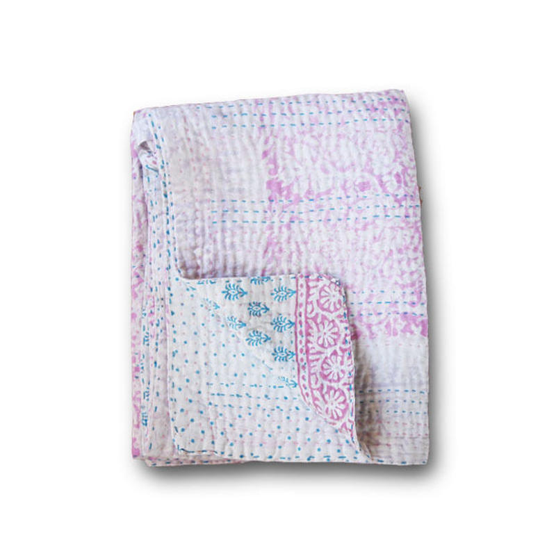 Jeanette farrier baby kantha ジャネットファリア ベビーカンタlight pink