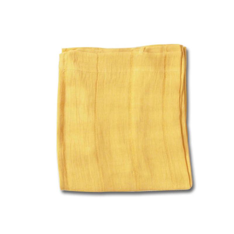en fil d'Indienne オンフィルダンディエンヌ カーテン Lin voile jaune 150x300