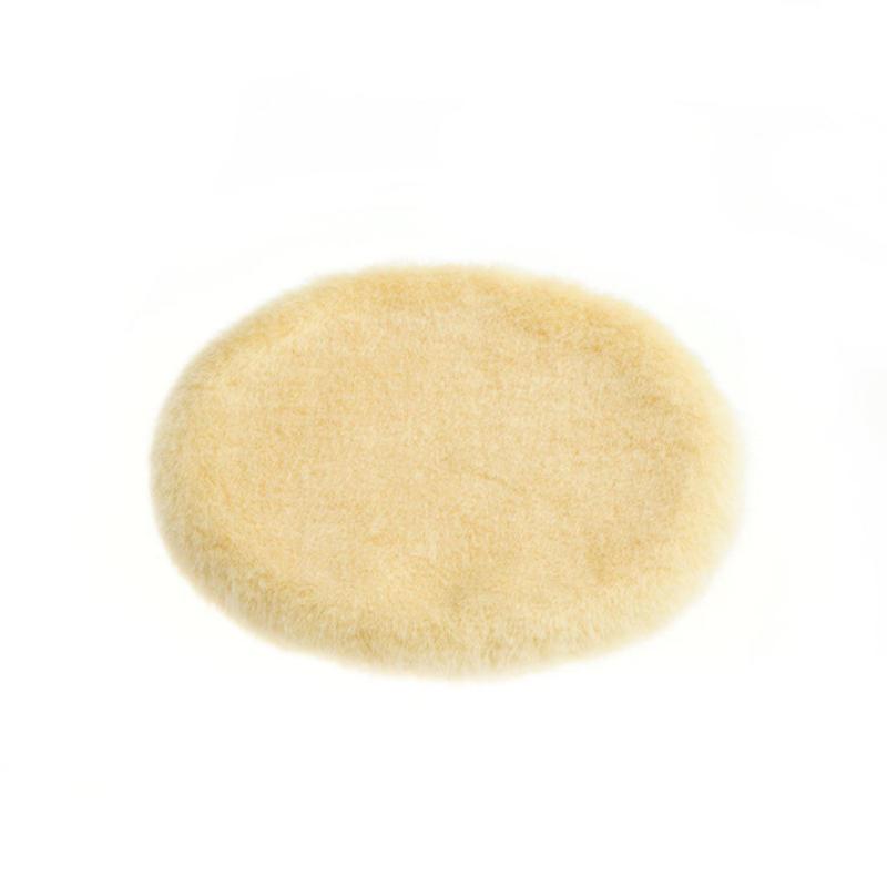 ミニラグ(骨壺カバーの敷物)/ サイズ:3寸・4寸 / クリーム
