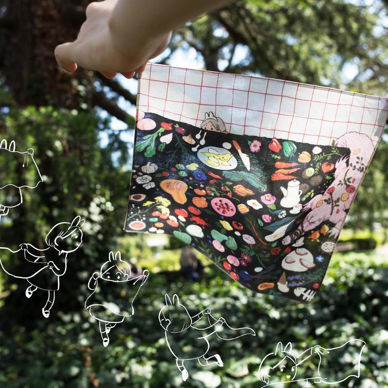 handkerchief 『 PETALS 』