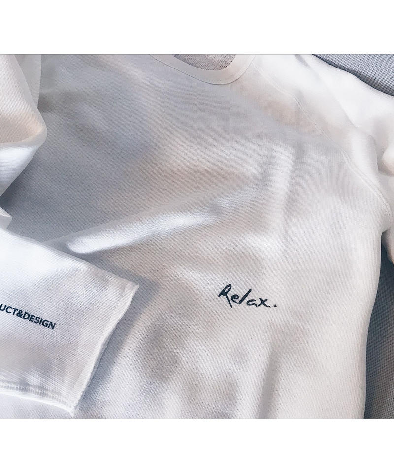 Cut Off Logo Sweat(White)
