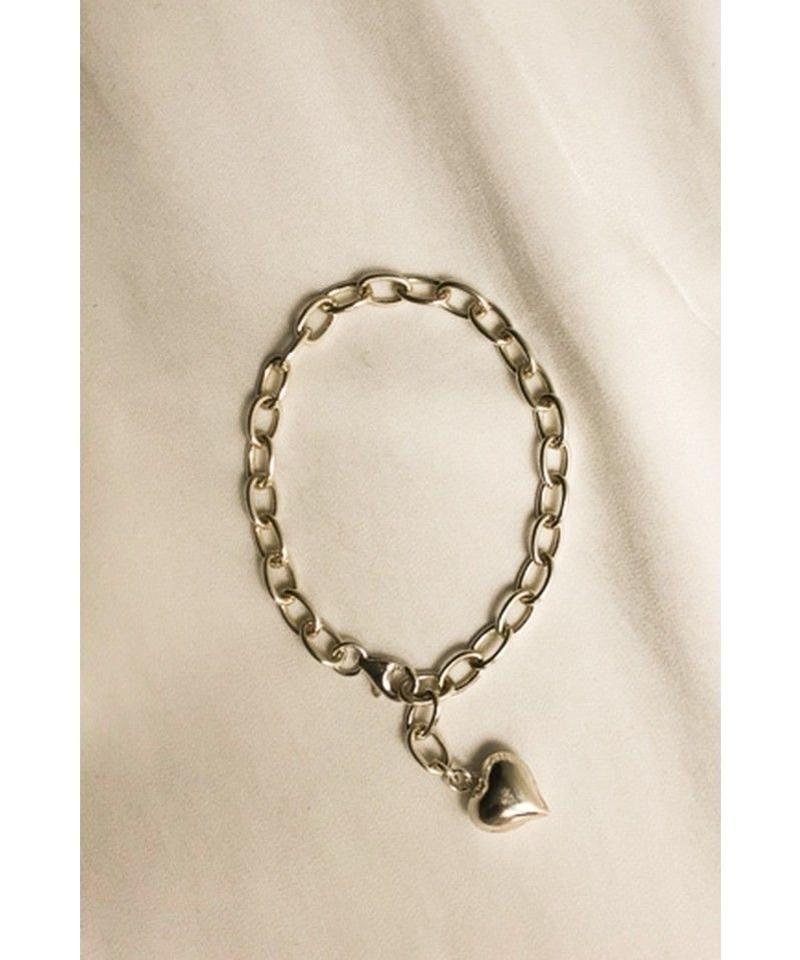 <再入荷>silver925 hartchain bracelet