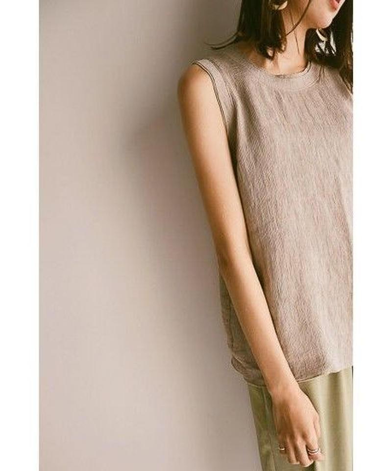 <再入荷>knit sleeveless