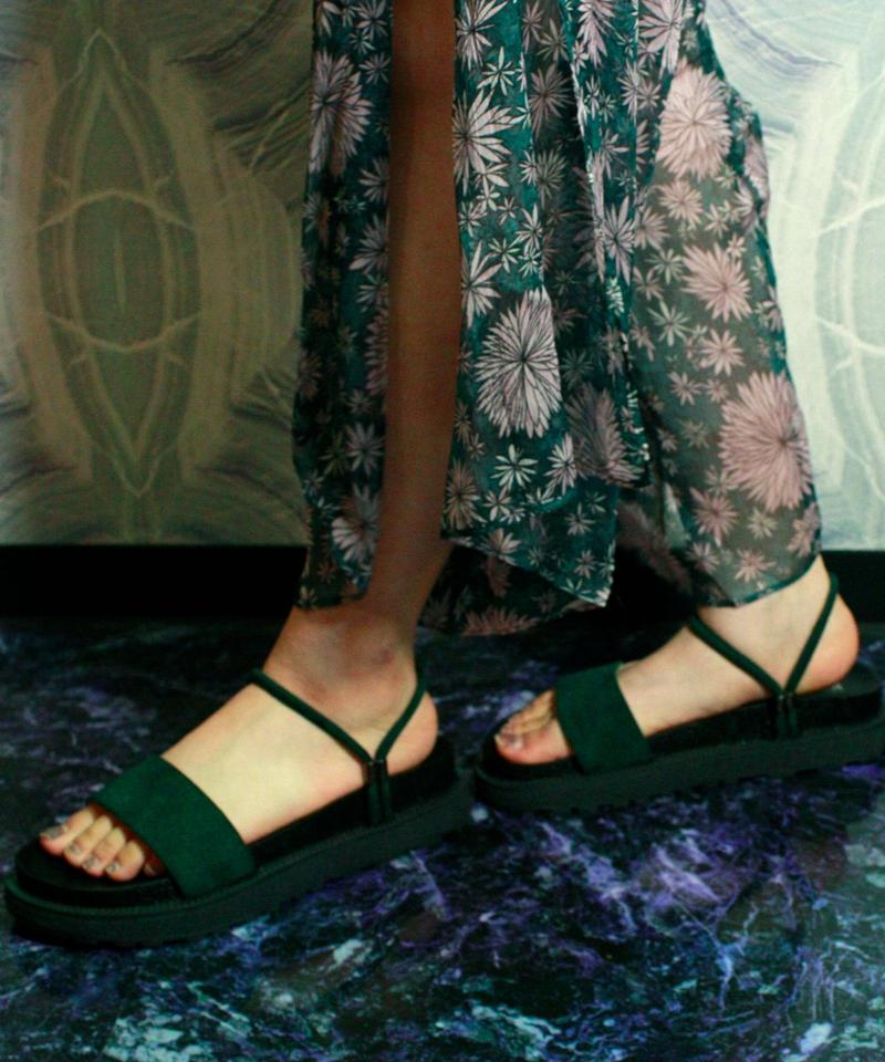 【Selected item】2way Sandal  / Green