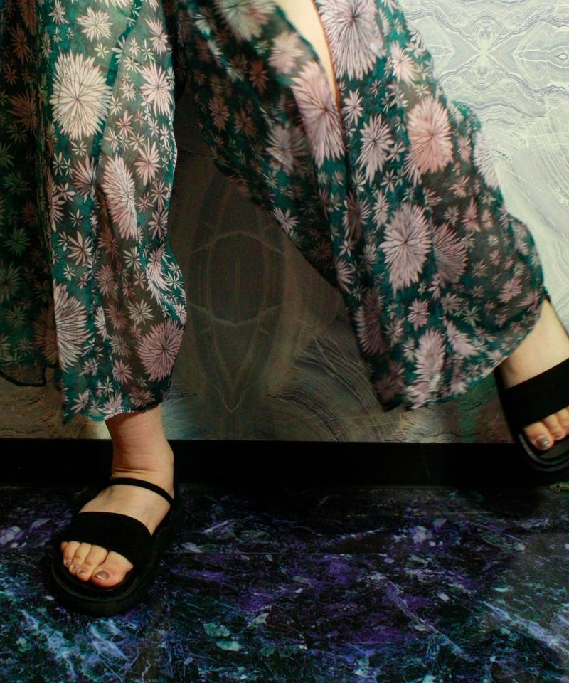 【Selected item】2way Sandal / Black