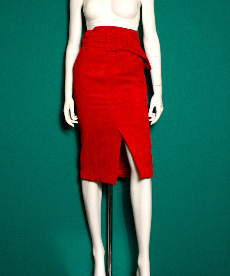 【migration】Cordutoy tight skirt / コーデュロイタイトスカート
