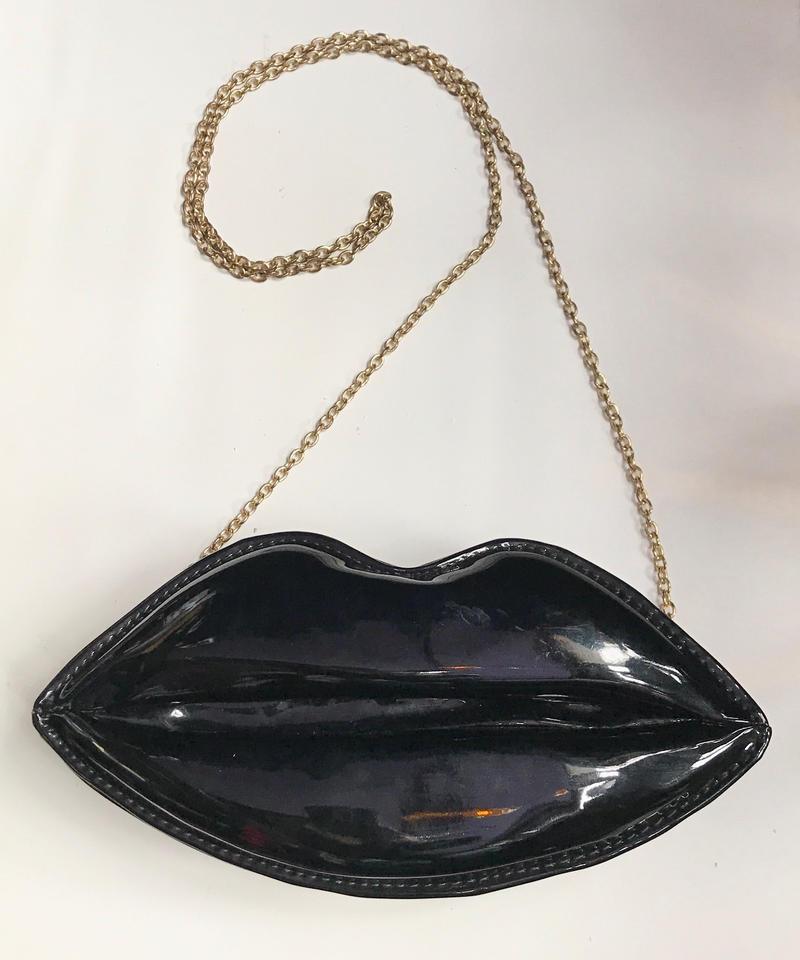 【Used】Lip enamel shoulder bag / 唇エナメルショルダーバッグ