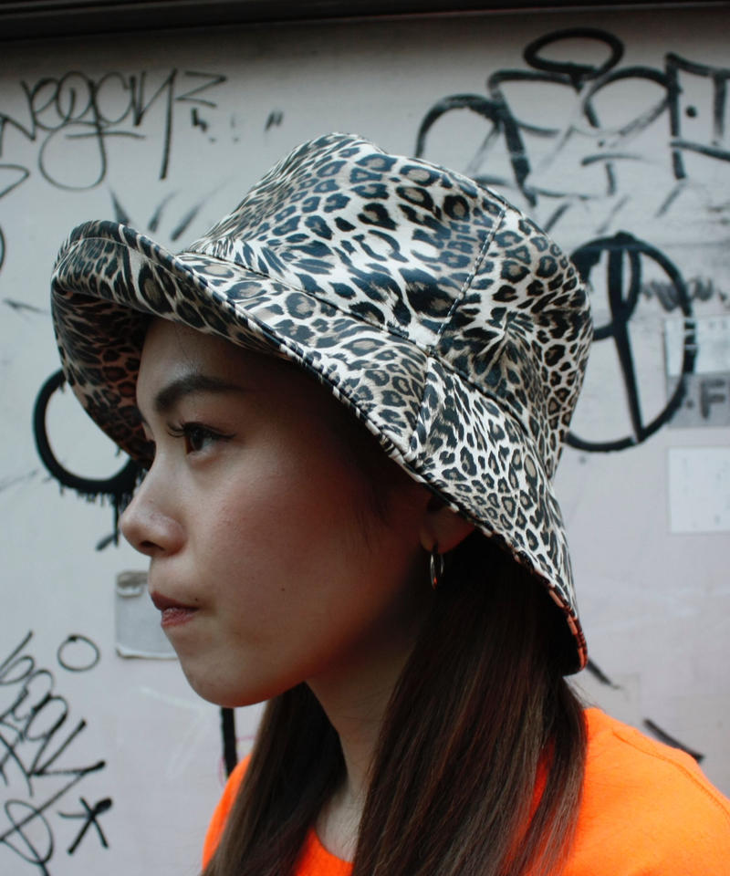 【Selected Item】Leopard bucket hat/ヒョウ柄バケットハット/mg310