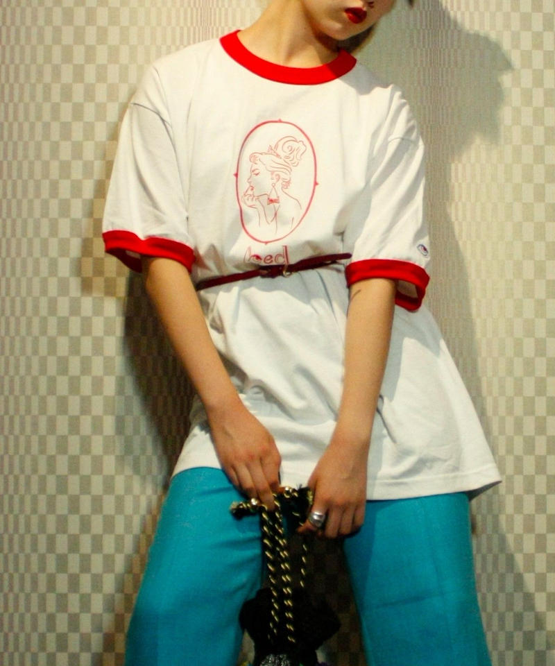【bed】Original T Shirt (Lady)/ Trim