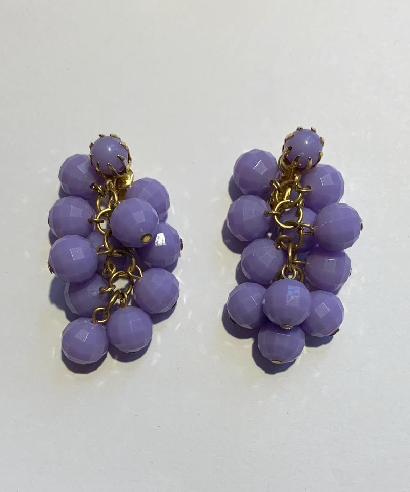 【Used Item】Purple desgin earring / パープルデザインイヤリング