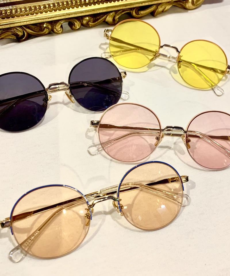 【Selected Item】color round sunglasses / カラーラウンドサングラス / mg-200