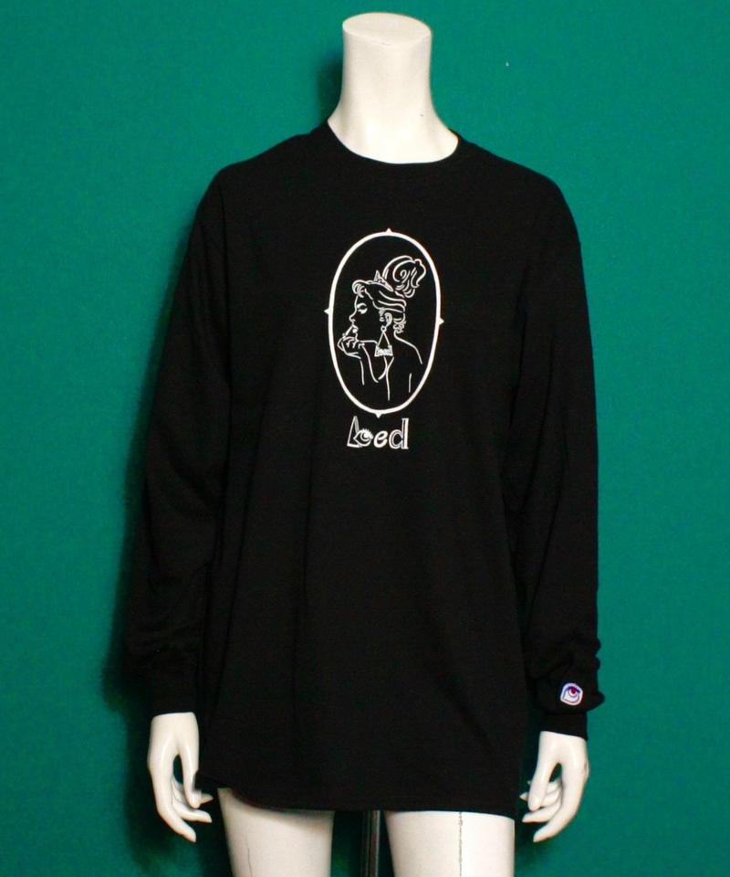 【bed】Original long sleeveT Shirt (Lady)/ Black