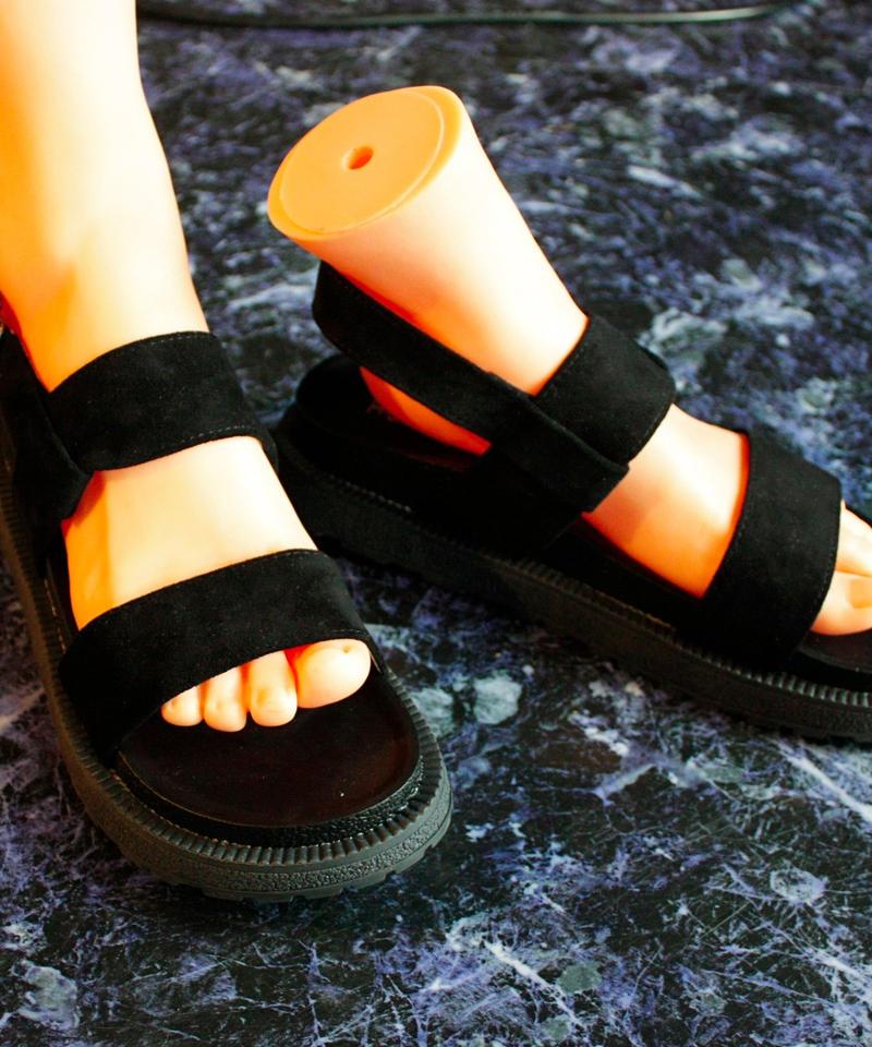 【Selected item】Strap Sandal / black