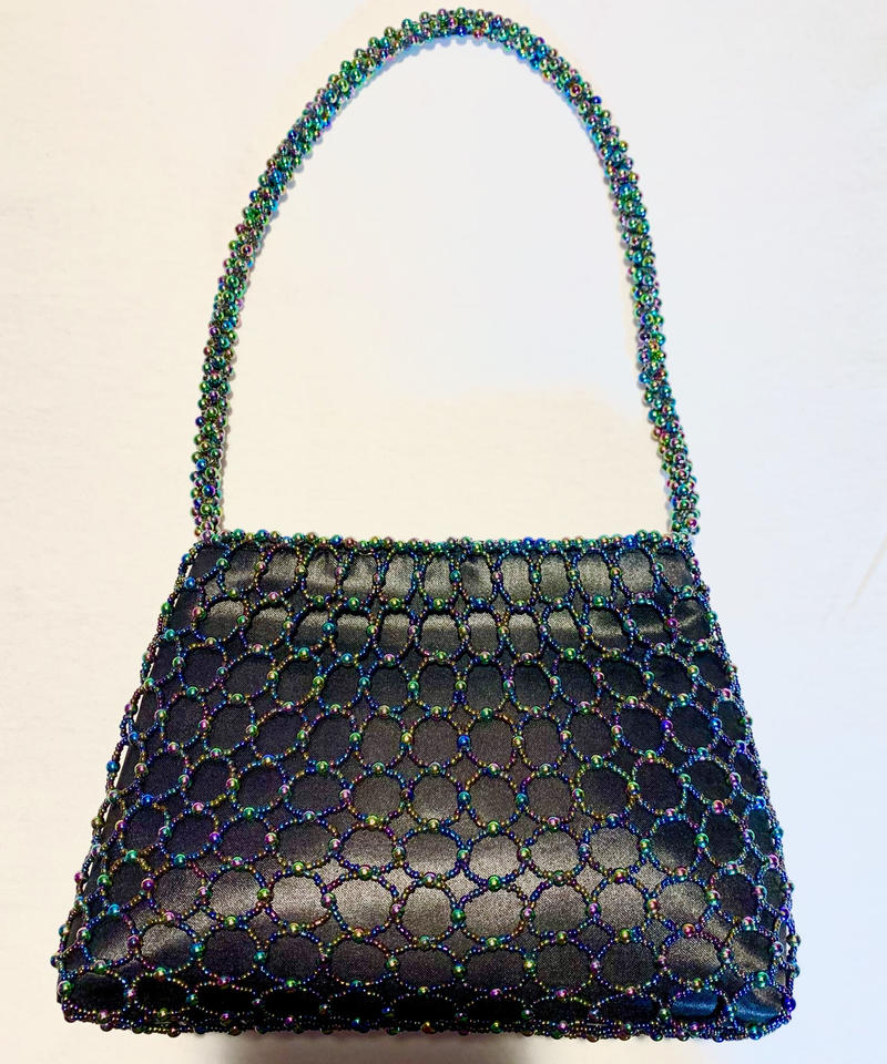 【Used Item】Beads aurora bag  /ビーズオーロラバッグ